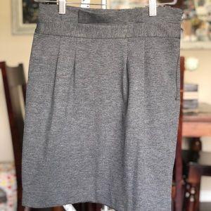 Pleated Mini-Skirt
